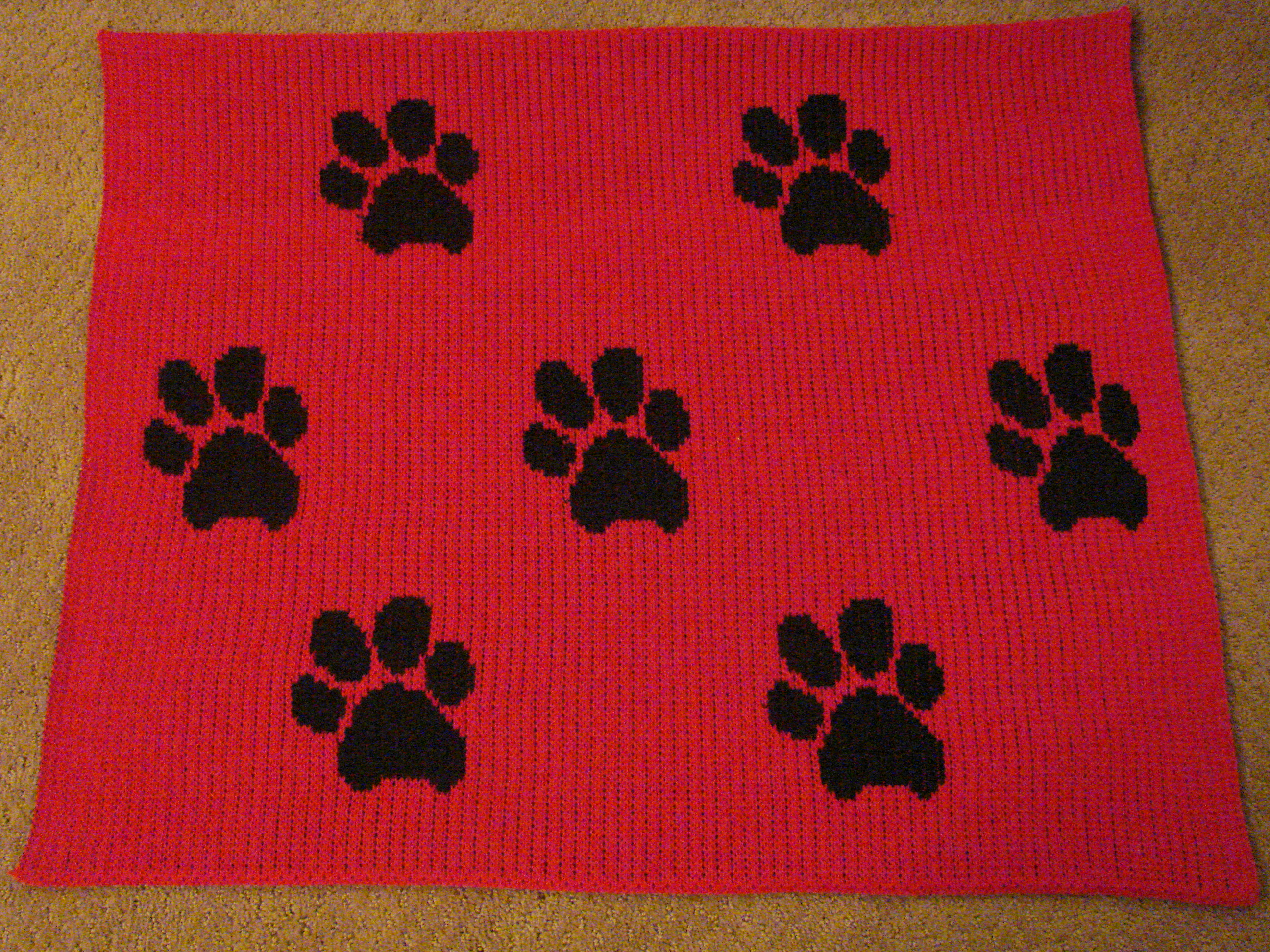 Knitting Patterns For Dogs Blankets : knitted afghans Cckittenknitss Weblog Page 3