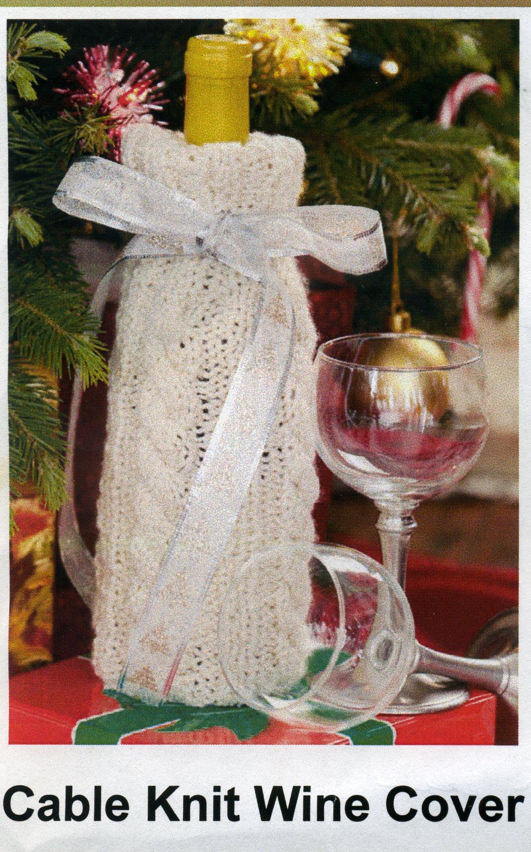 Knitting Pattern Wine Bottle Cover : July 2013 Cckittenknitss Weblog