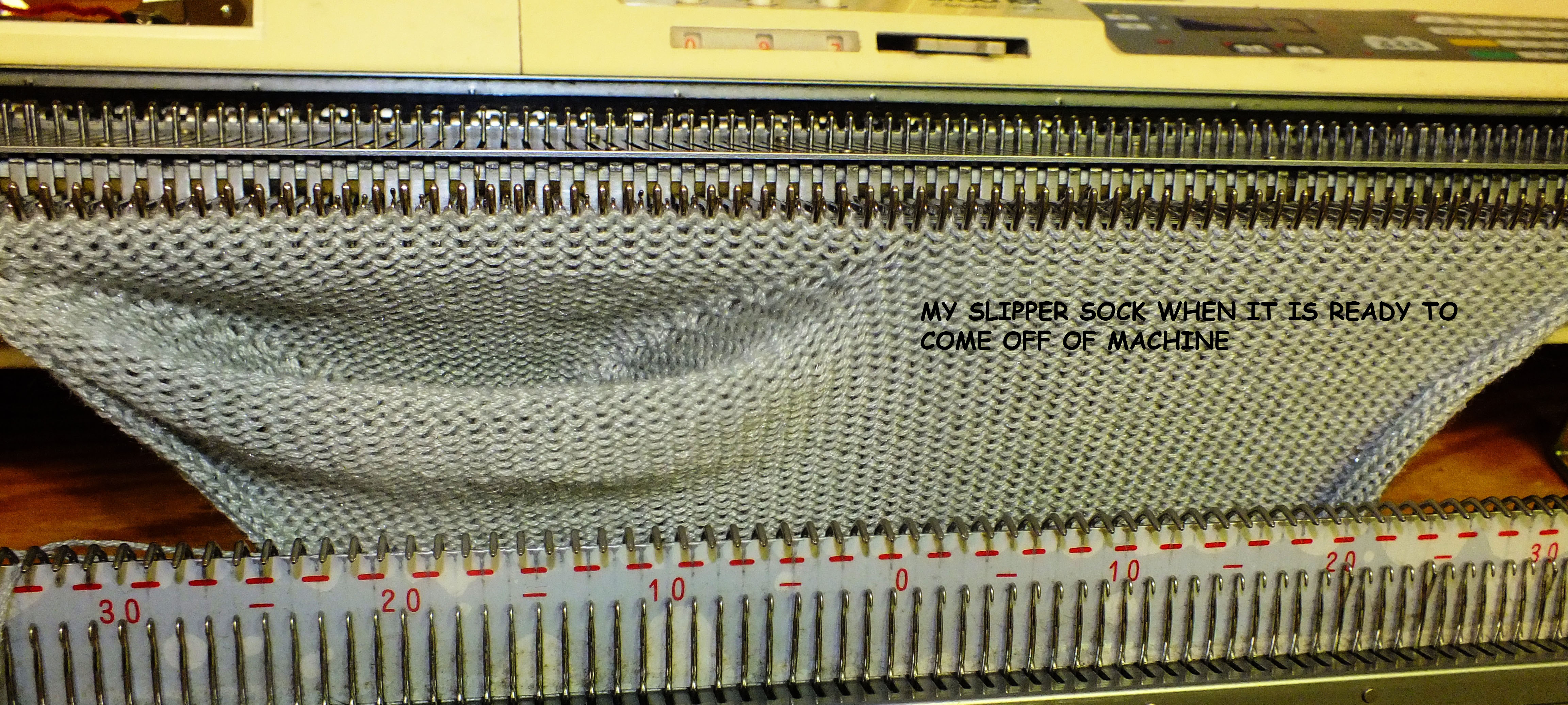 how to build a knitting machine