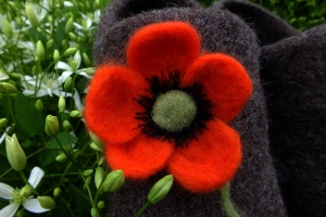 poppyfeltedflower