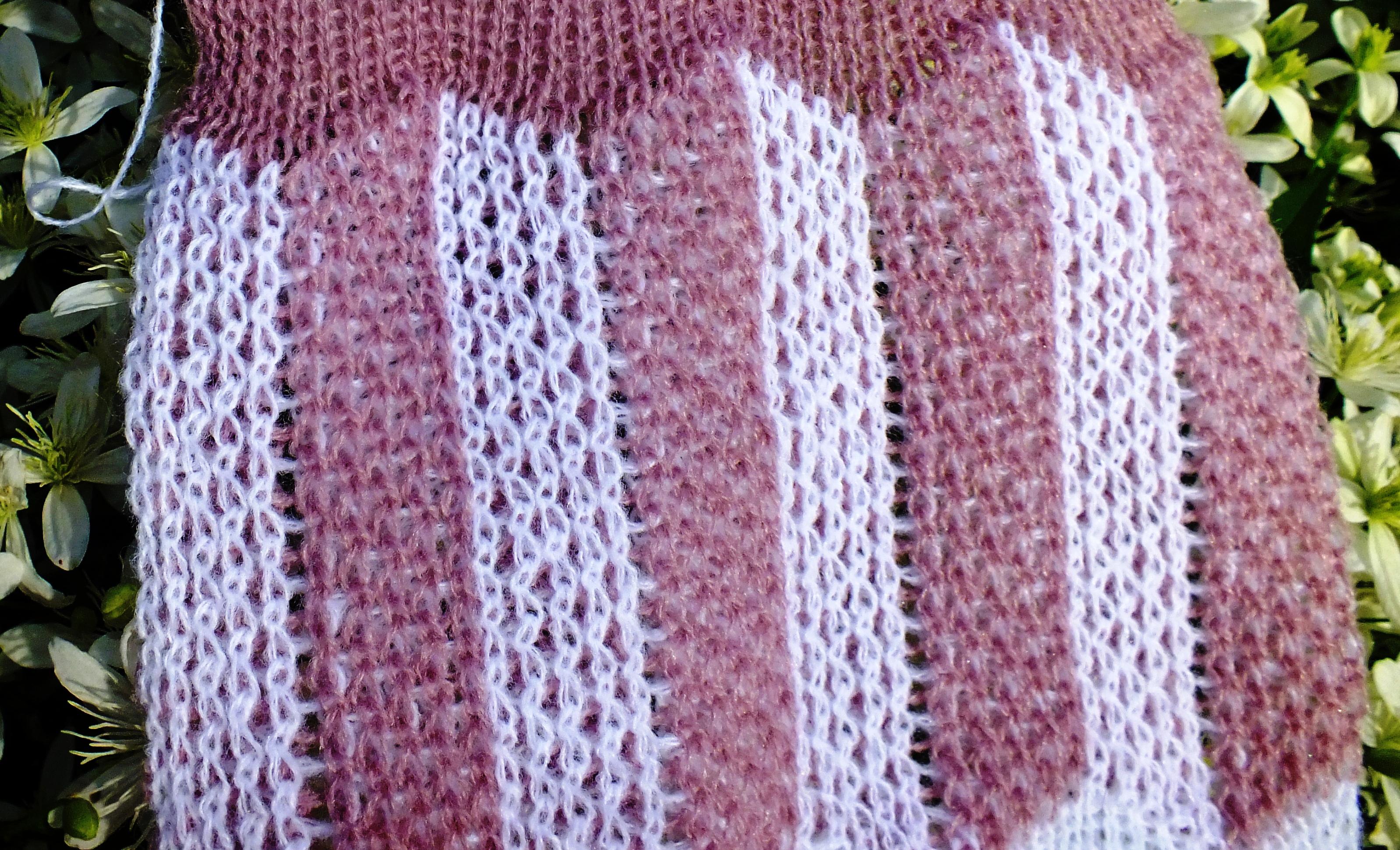 Passap Knitting Machine Patterns : Passap Vertical Ripple Racking Pattern Cckittenknitss Weblog
