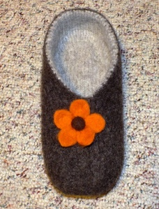 After Felting-Size 8
