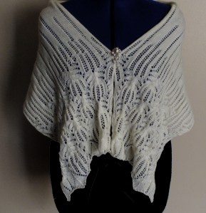 Pana Frost Flower Shawl