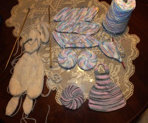 Tribbles and parts of mouse to stuff and felt