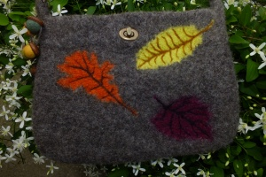 front side of purse