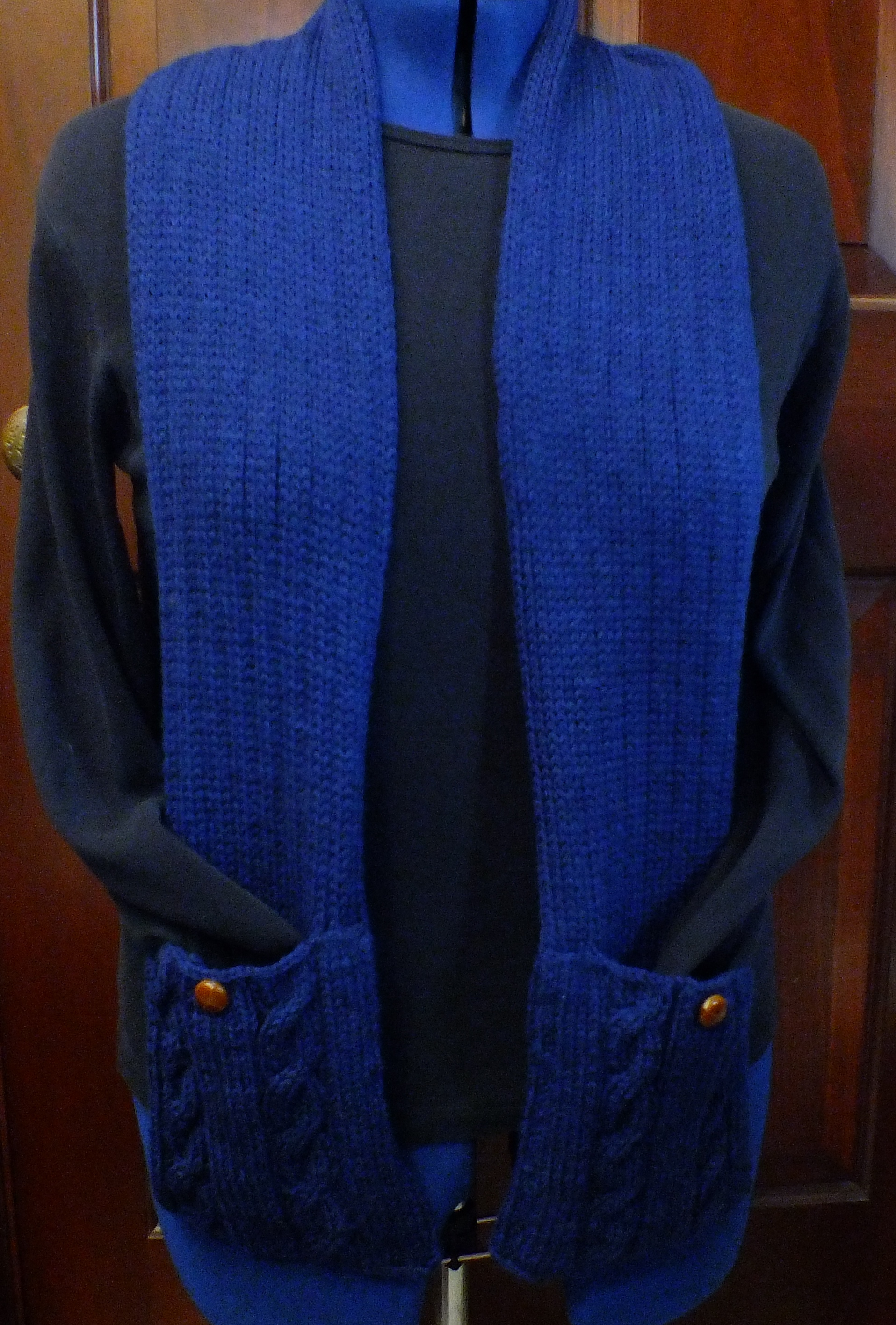 Pocket Scarf on the Knitting Machine   Cckittenknits\'s Weblog