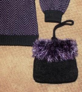 Purple funfurpurse