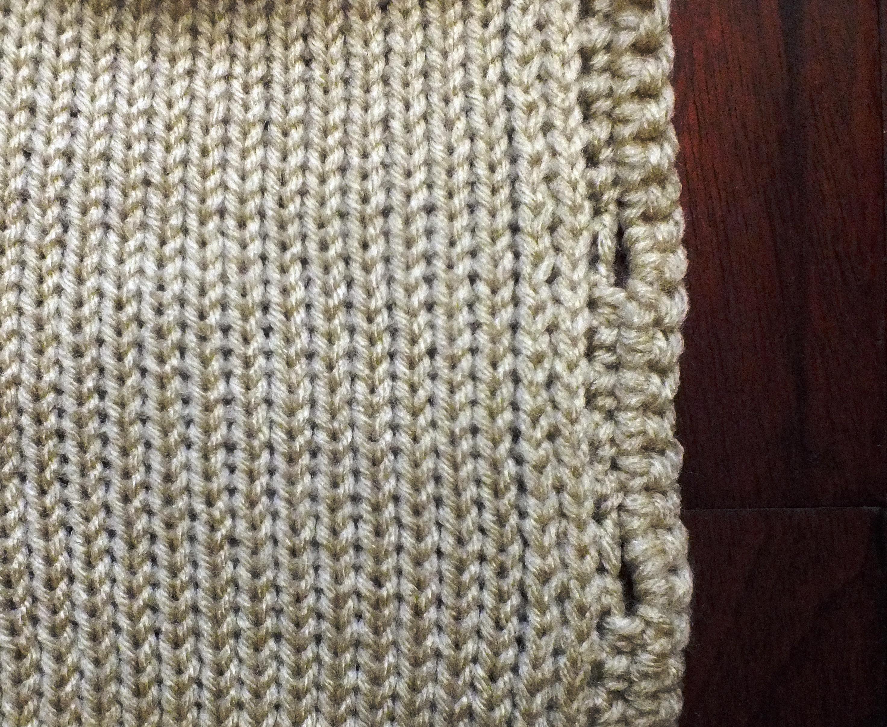 Non Roll Edge for Machine Knitting | Cckittenknits\'s Weblog
