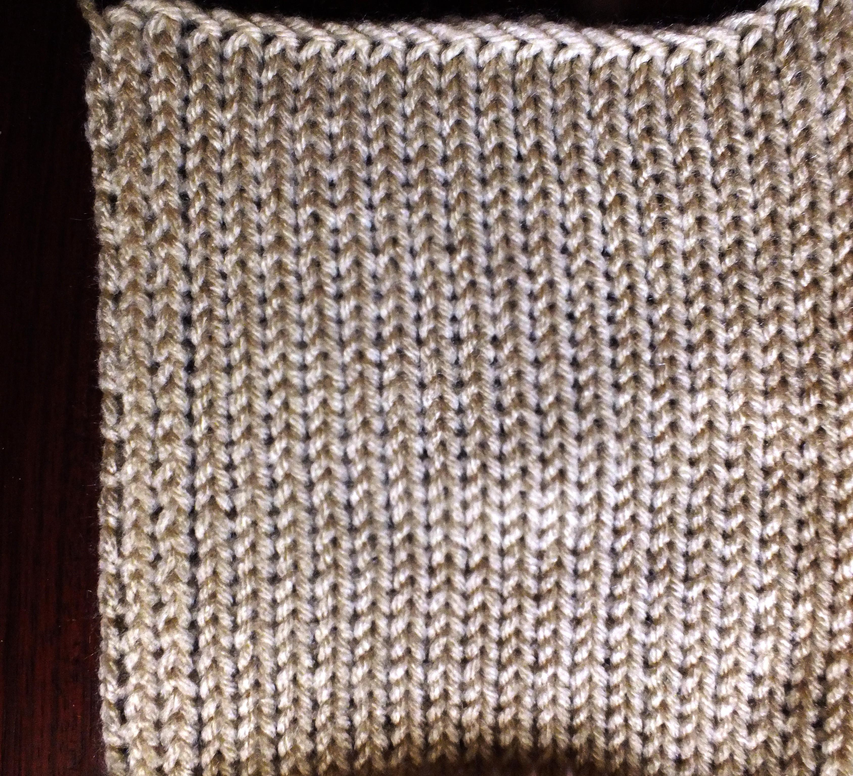 Knitting Machine No Roll Edge