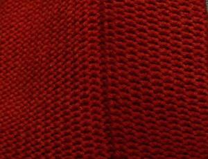 Tuck stitch side
